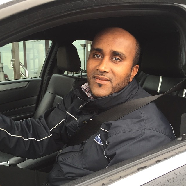 My driver in Oslo, a man with an interesting story