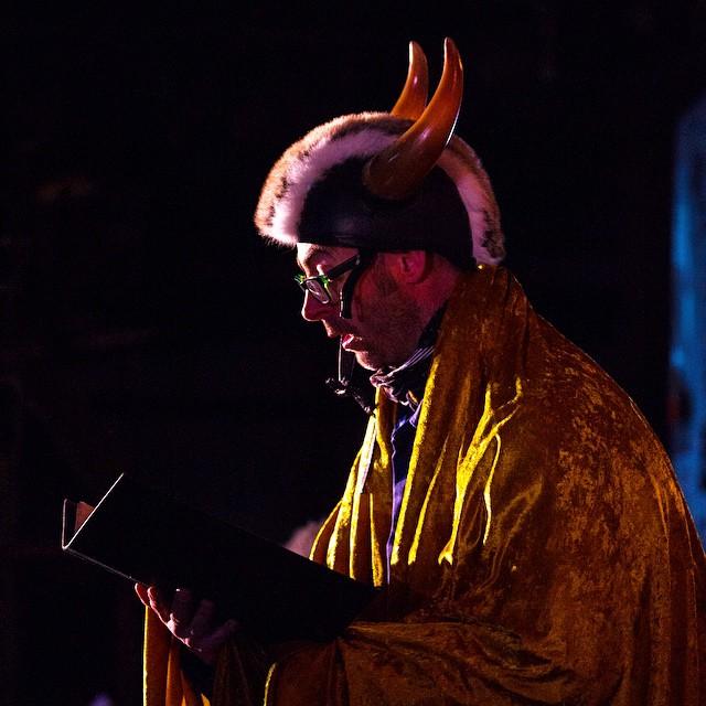 A Viking soloist in Longyearbyen