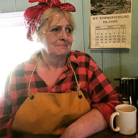 Birna Björnsdóttir talks about life as a herring girl in Iceland