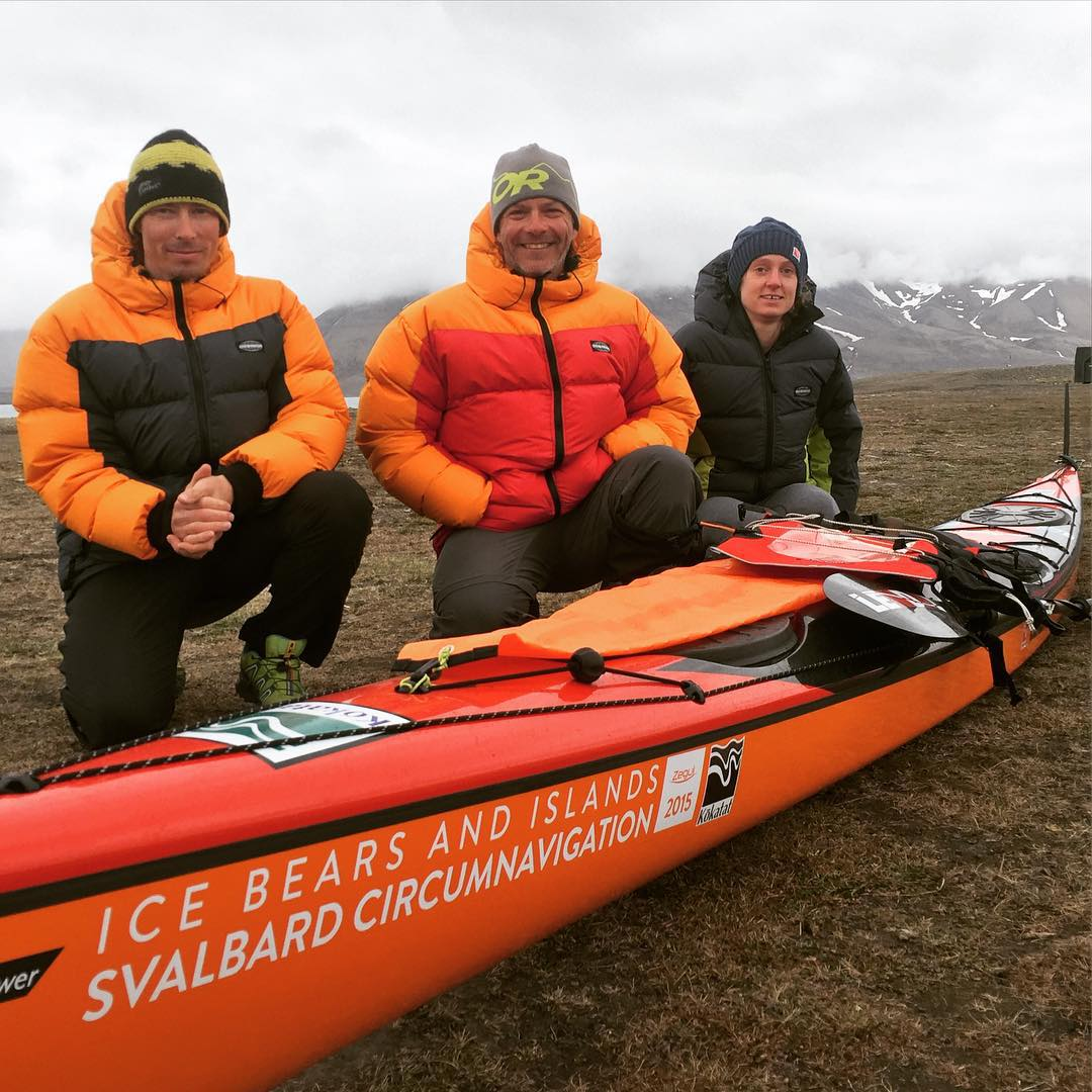 The Ice Bears and Islands Svalbard Circumnavigation team