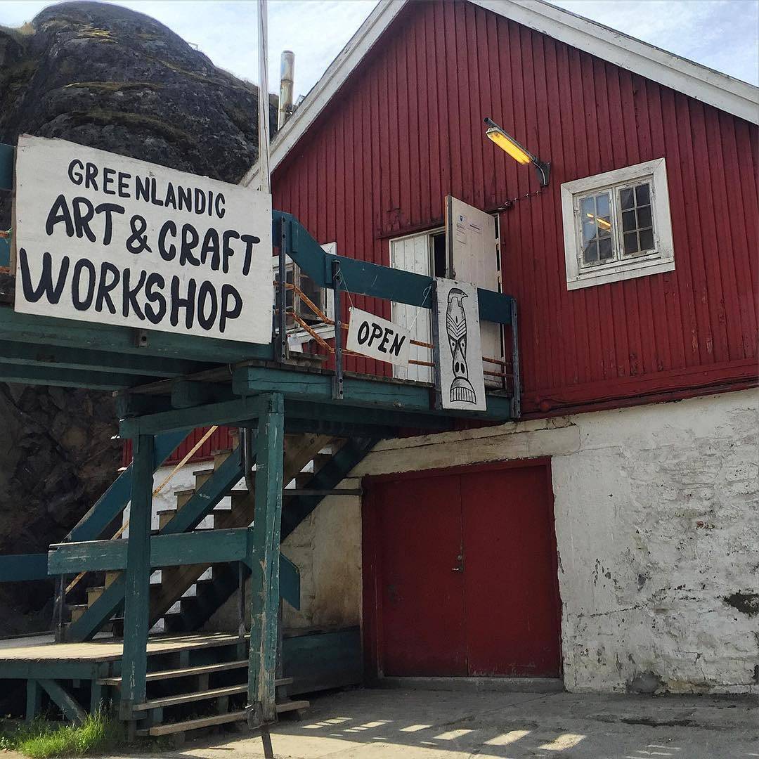 The Greenlandic Art & Craft Workshop in Sisimiut, Greenland