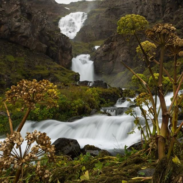 A waterfall on the Snæsfellsnes peninsula