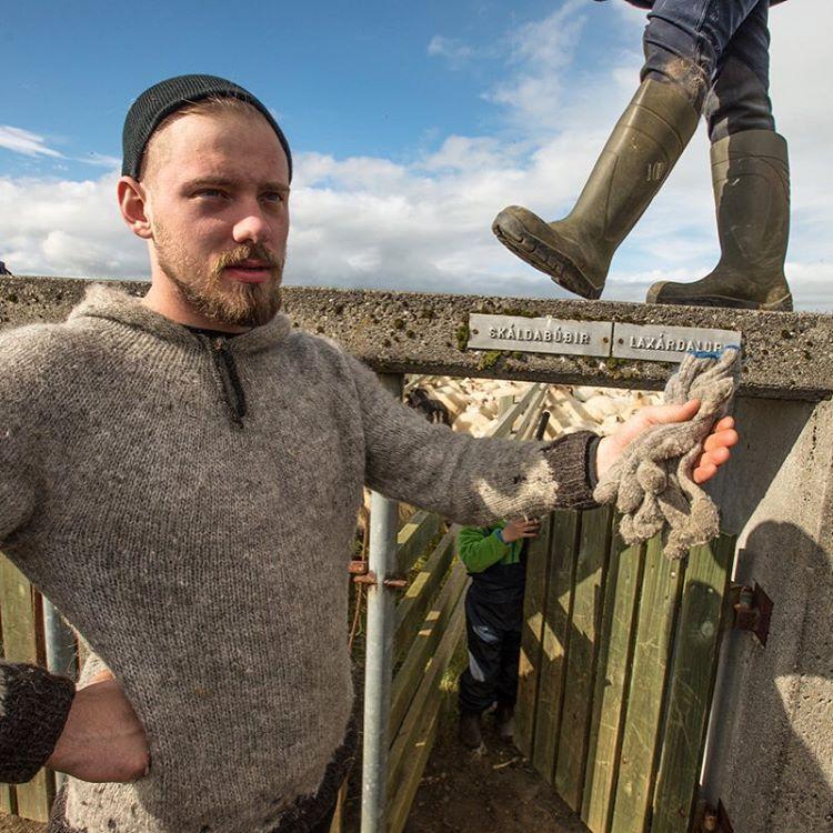 Jón Marteinn Finnbogason is a fisherman and a farmer