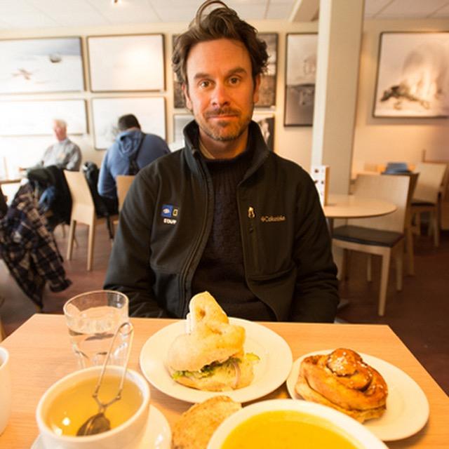 Eric Guth in Svalbard