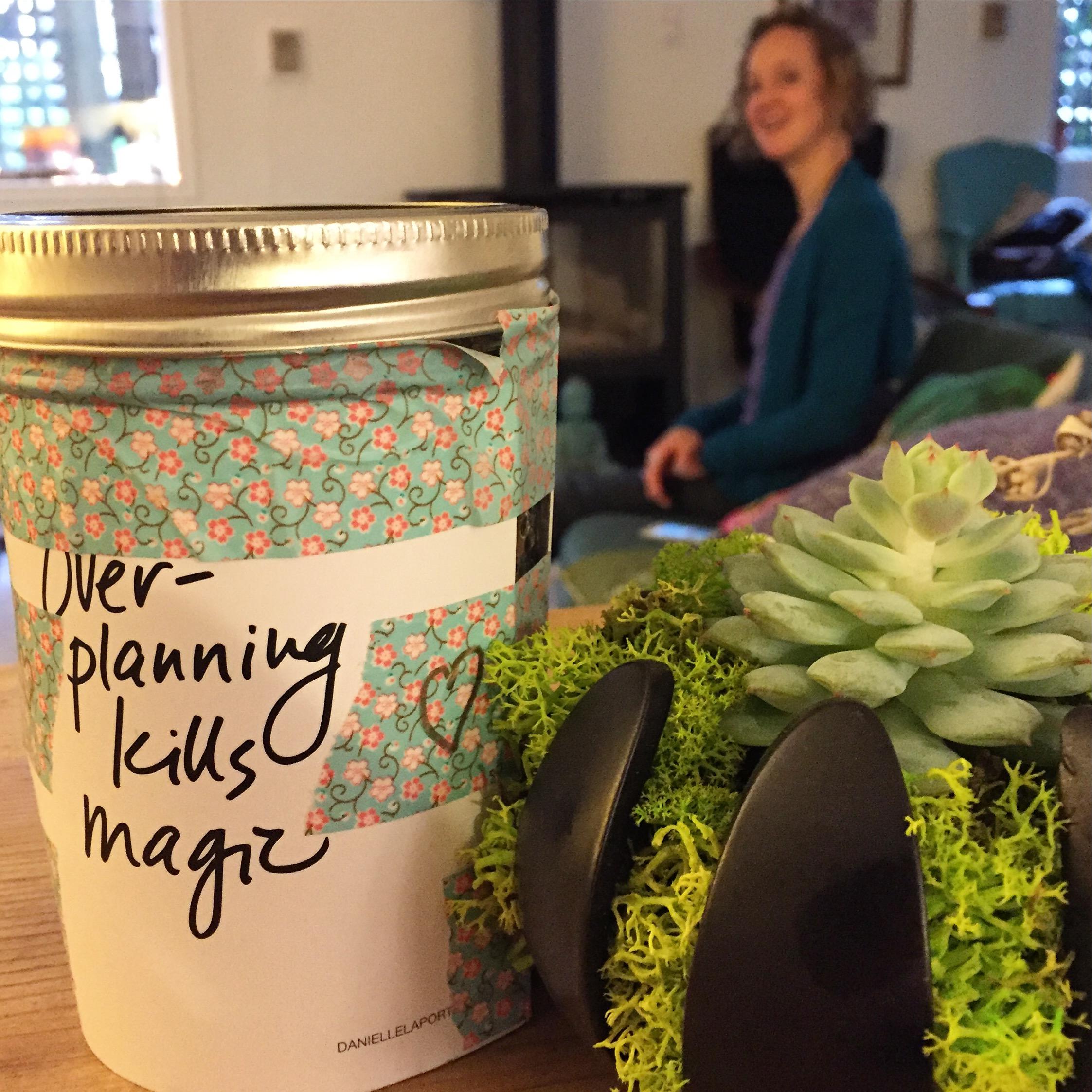 Overplanning kills the magic photo