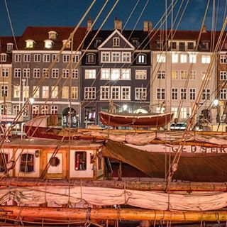 Sailboats in Copenhagen.