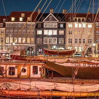 Sailboats in Copenhagen.