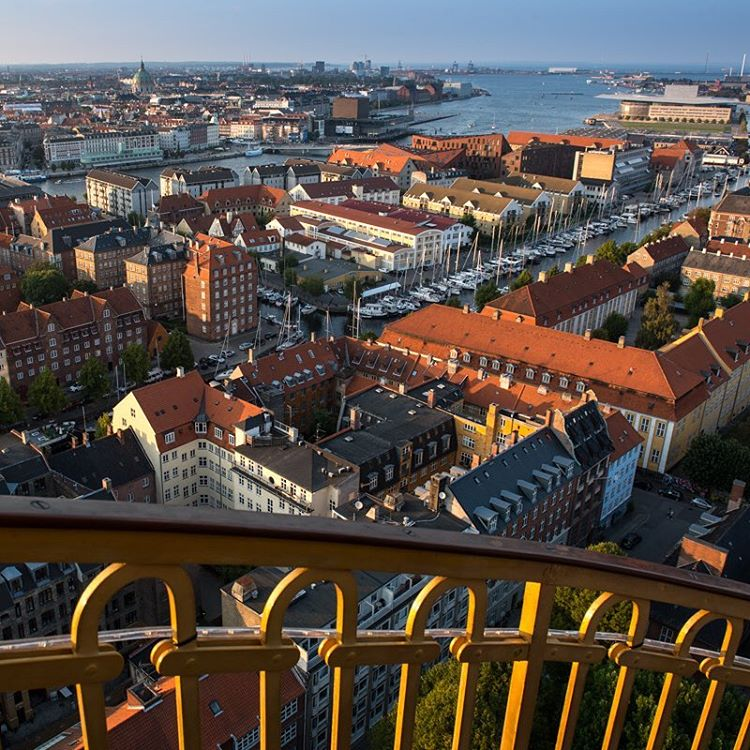 A view over Copenhagen.