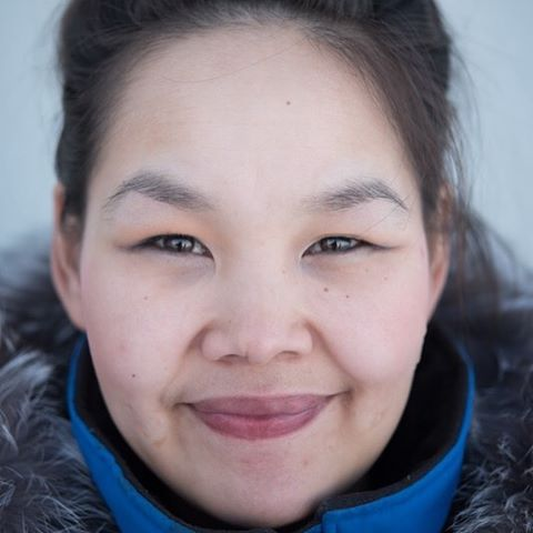 Eleanore Pitseolak, the Deputy Mayor of Pond Inlet, Nunavut.