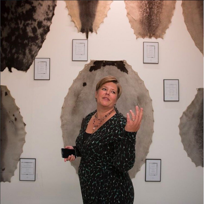 Ditte Sorknæs had been CEO of Great Greenland Furhouse for six months when we took this photograph.