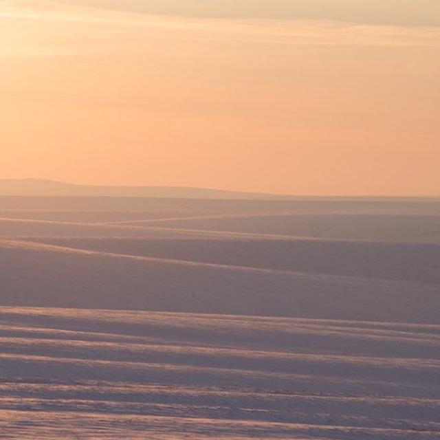 Sunrise in Alaska.