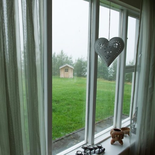 A window in Iceland.