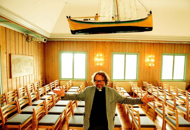 Pastor Leif Magne Helgesen was raised in Madagascar, and he's been in Svalbard since 2008.
