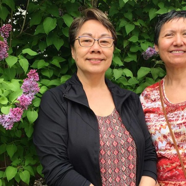 Eva Aariak (left) and Leena Evic (right) are two of Nunavut's top language experts.