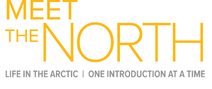 Meet The North logo: Life in the Arctic, one introduction at a time