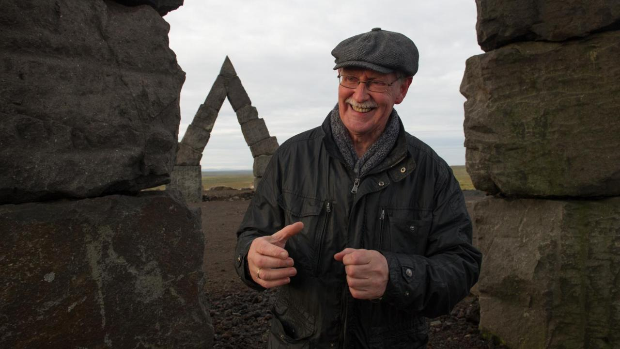 Erlingur B Thoroddsen is the man behind Arctic Henge.