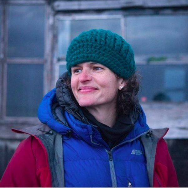Jenny in Russia in 2017.