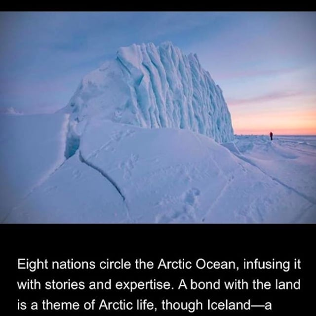 A screen shot of the national geographic story.