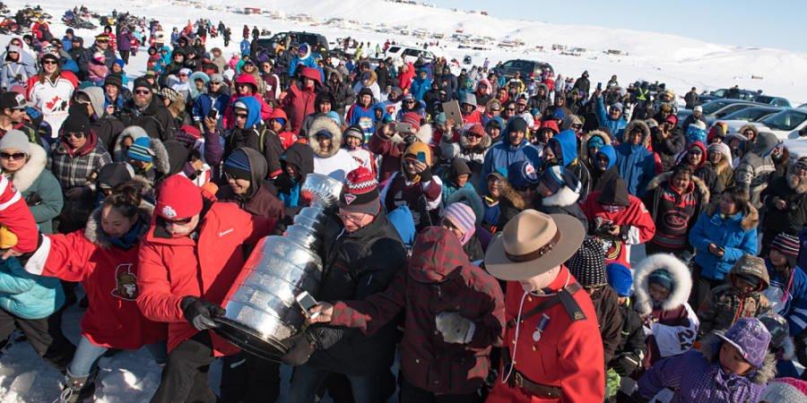 Stanley Cup Visit, Pond Inlet, Nunavut, 2016