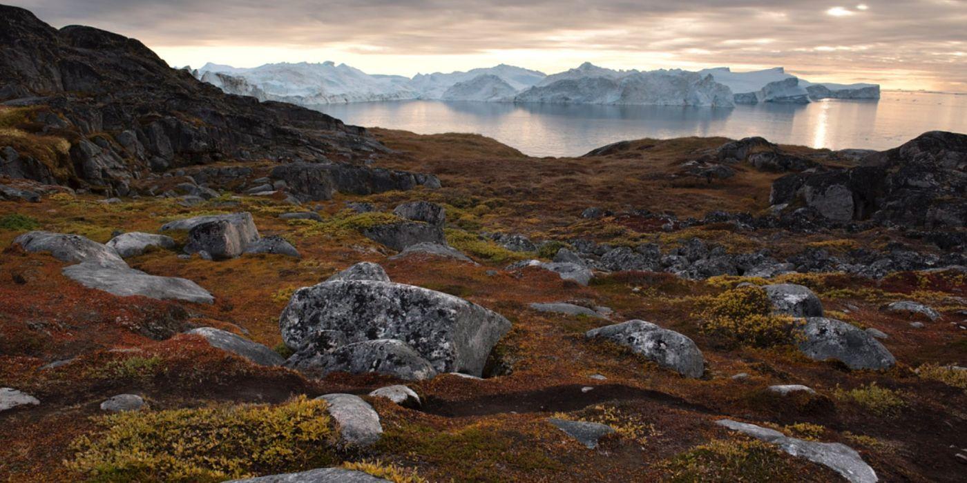 The Ilulissat coast.
