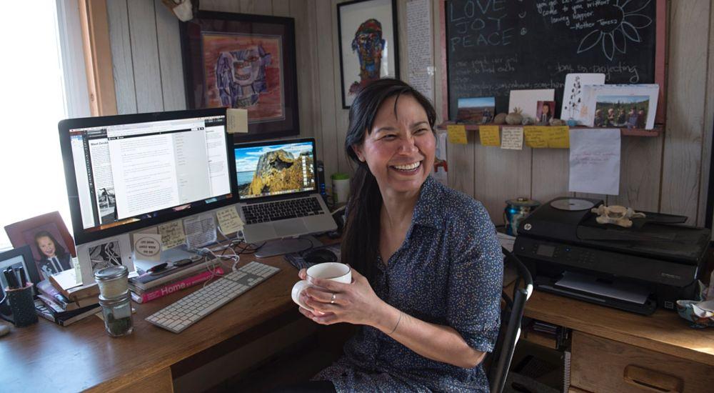 Laureli Ivanoff, Unalakleet, Alaska.